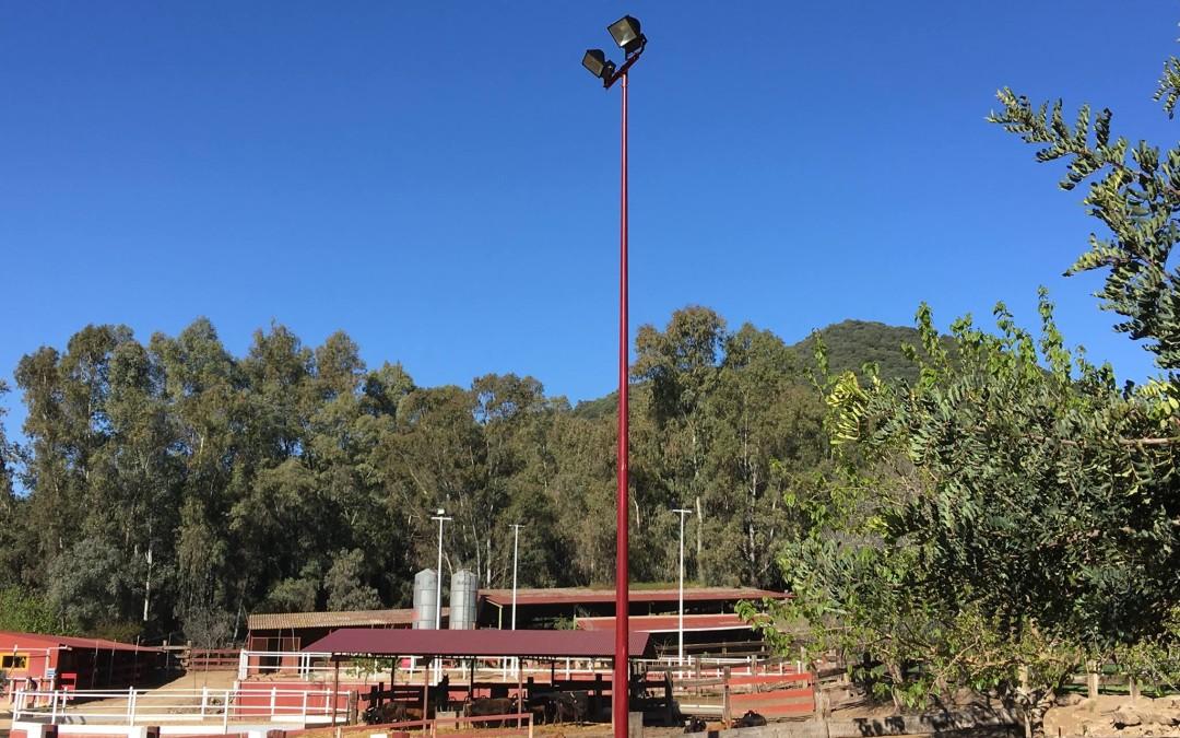 Iluminación Hacienda Vallehermoso